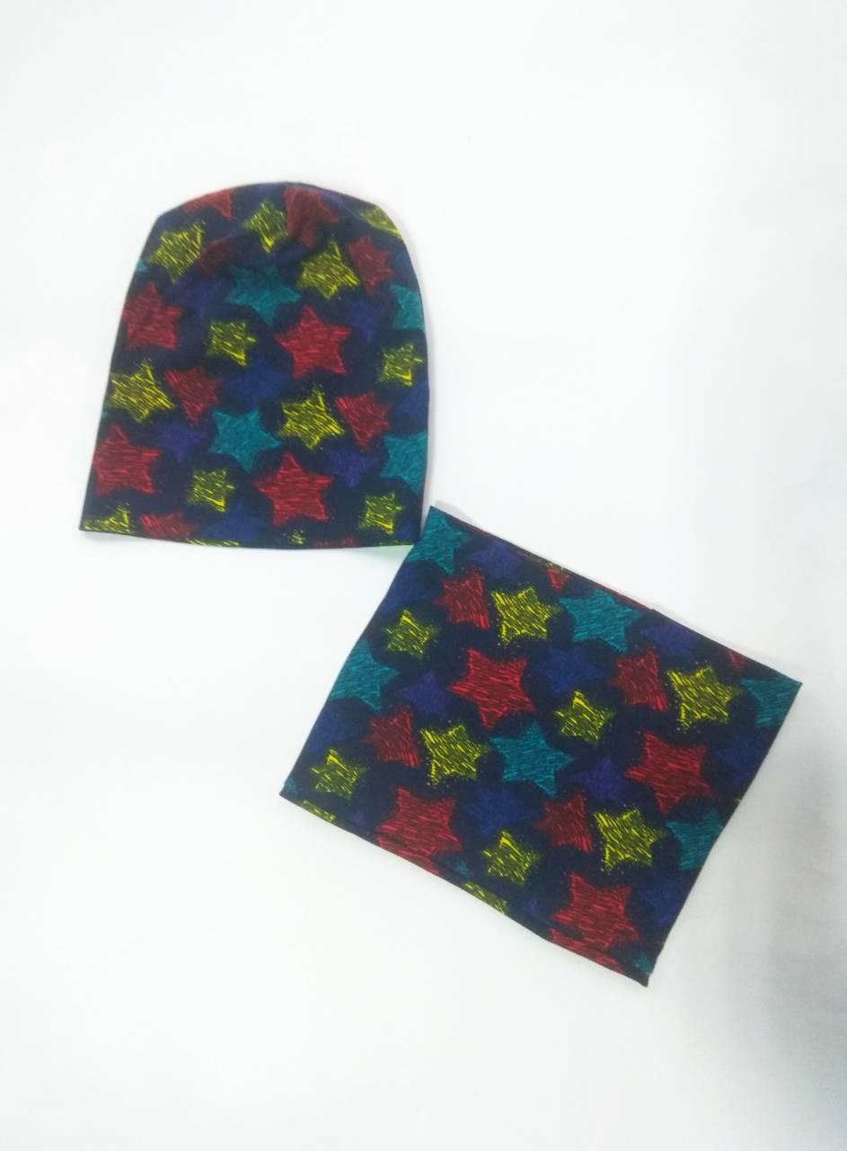 Комплект шапка з хомутом e59eb9f7c7889