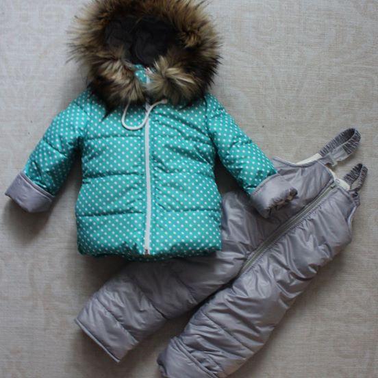 47838fc6963583 Комбінезон зимовий на дівчинку, купити за 1100.00 грн. :: Малюкам